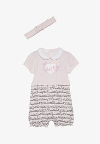 Guess - SHORTIE HAIR BAND BABY SET - Jumpsuit - light pink - 2