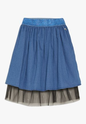 JUNIOR SKIRT - Áčková sukně - vintage medium blue