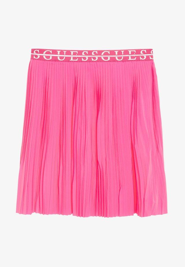 JUNIOR PLEATED MIDI SKIRT - Plisovaná sukně - pop pink