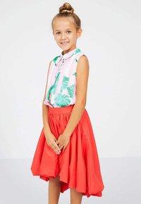 Guess - JUPE EN TAFFETAS MARCIANO - A-line skirt - rose - 1
