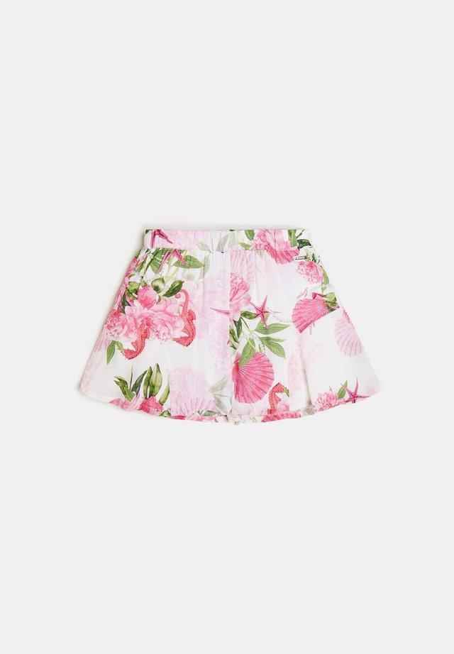Shorts - mehrfarbe rose