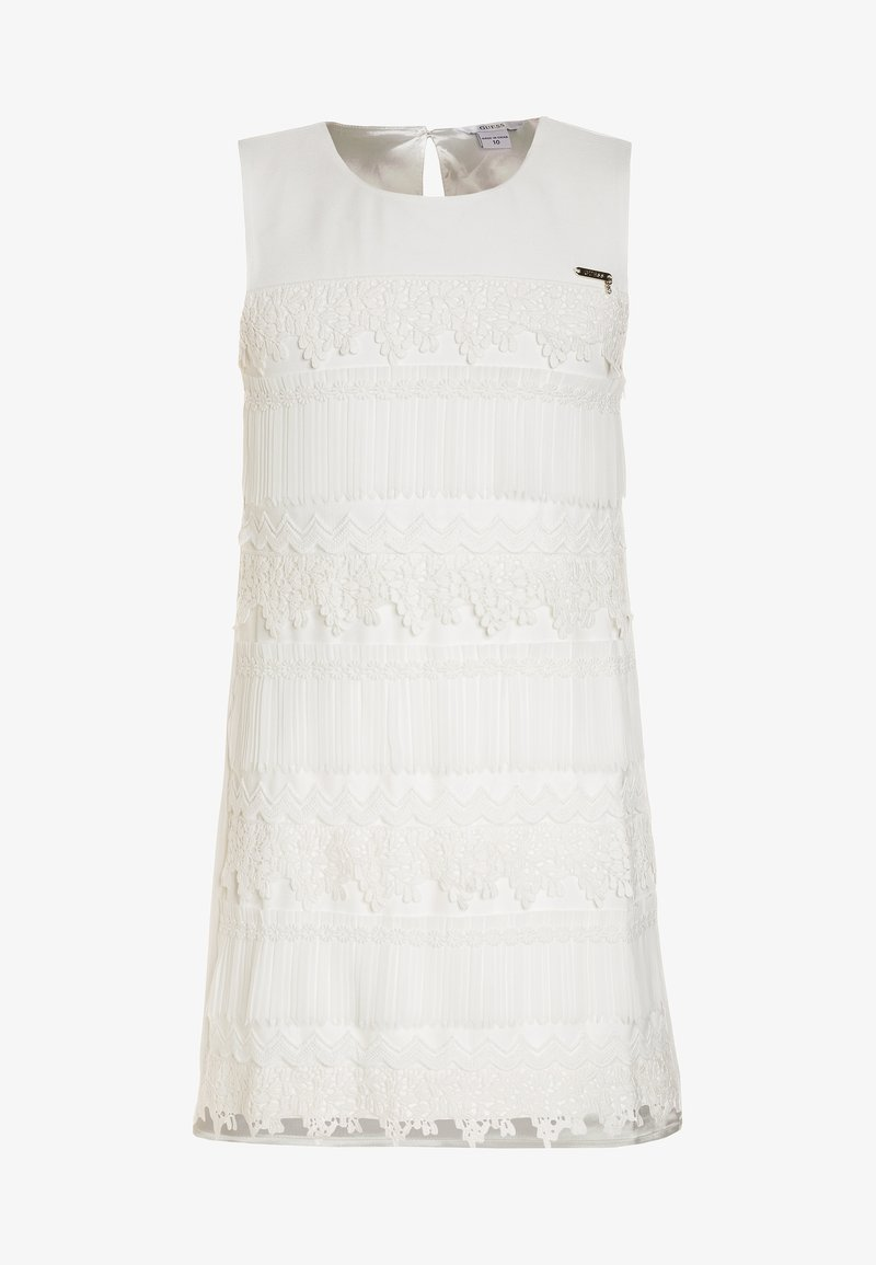 Guess - DRESS - Cocktail dress / Party dress - white clay