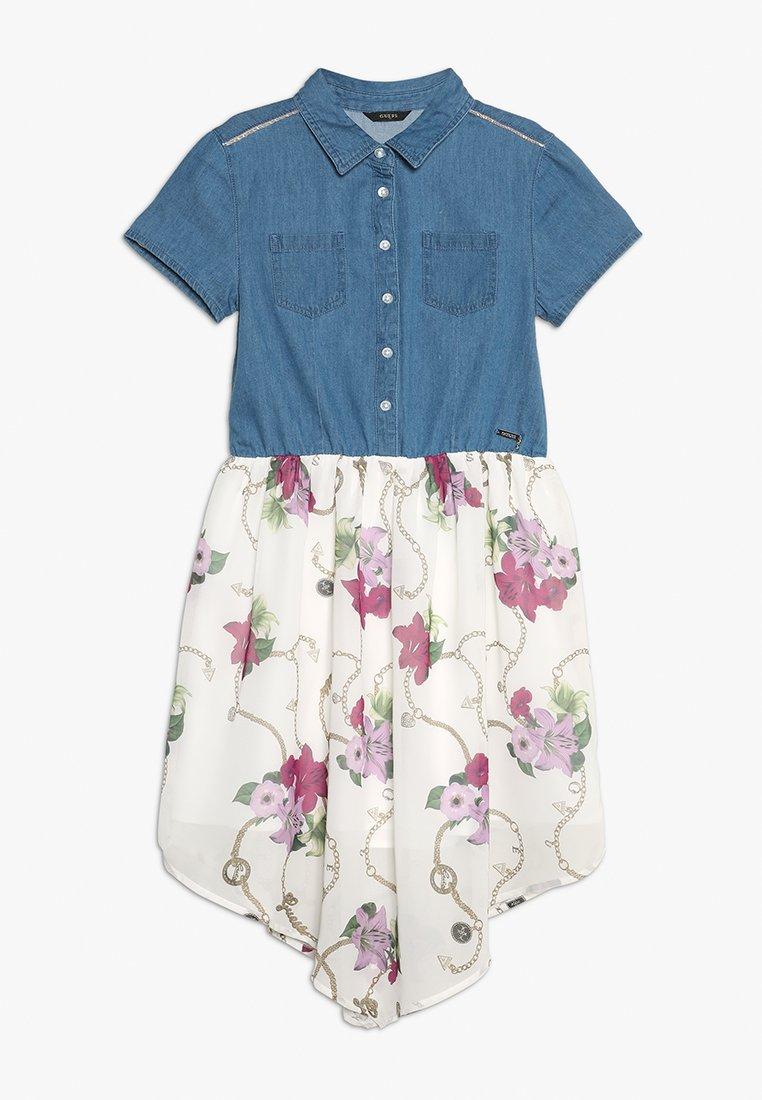 Guess - DRESS - Jeanskleid - light blue denim