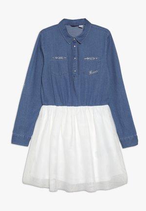JUNIOR DRESS - Robe en jean - vintage medium blue