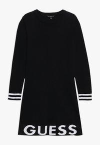Guess - JUNIOR DRESS - Gebreide jurk - jet black - 0