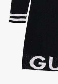 Guess - JUNIOR DRESS - Gebreide jurk - jet black - 2