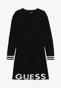 Guess - JUNIOR DRESS - Gebreide jurk - jet black - 3
