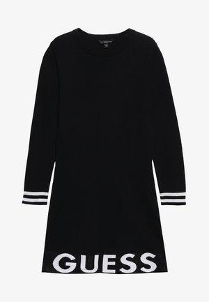 JUNIOR DRESS - Gebreide jurk - jet black