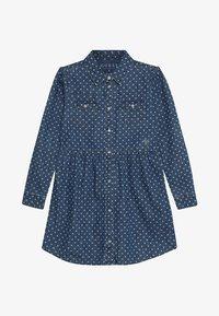 Guess - JUNIOR DRESS CORE - Denimové šaty - blue denim - 4