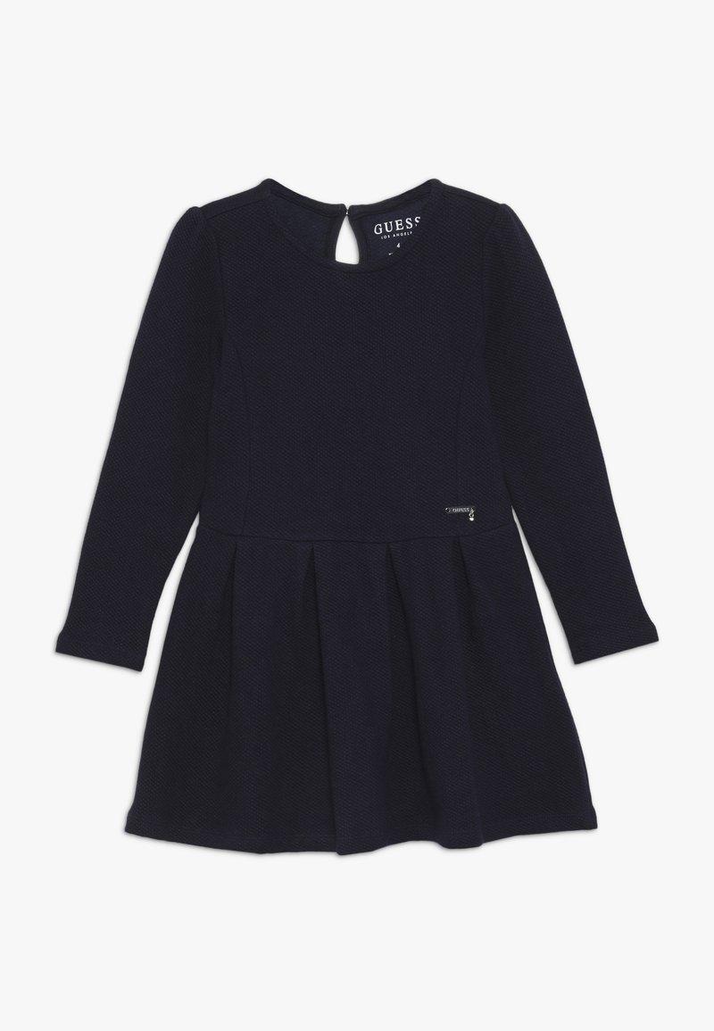 Guess - TODDLER DRESS - Denní šaty - deck blue