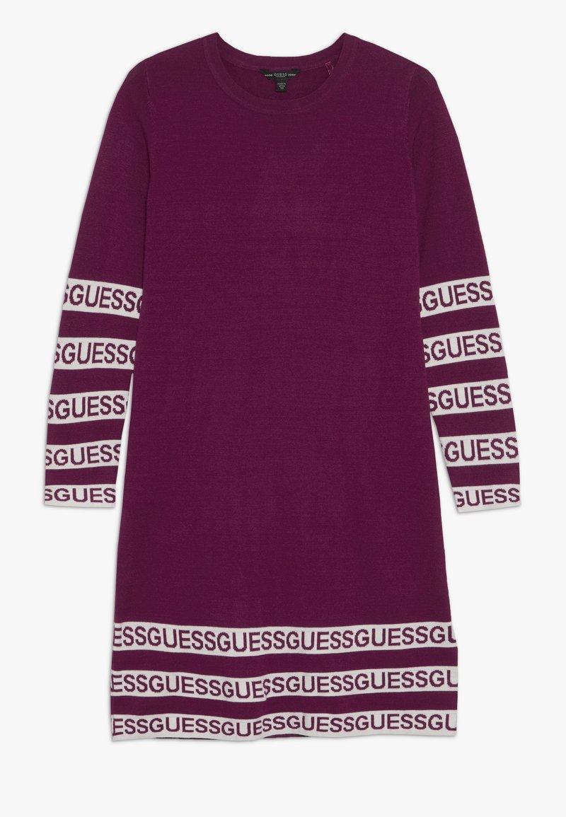 Guess - JUNIOR DRESS - Stickad klänning - baies sauvages