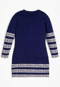 Guess - JUNIOR DRESS - Sukienka dzianinowa - blue - 1