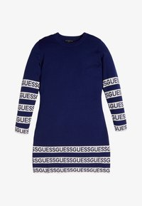 Guess - JUNIOR DRESS - Sukienka dzianinowa - blue - 0