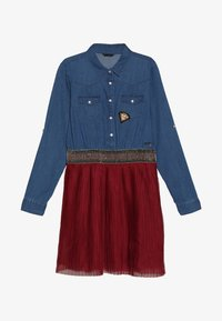 Guess - JUNIOR SLEEVE DRESS - Robe en jean - light blue denim - 2
