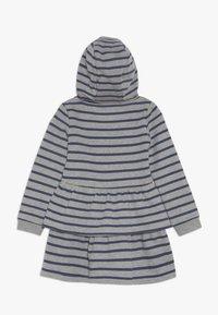 Guess - TODDLER HOODED ACTIVE - Denní šaty - melange grey - 1