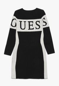 Guess - JUNIOR DRESS - Strikket kjole - jet black - 1
