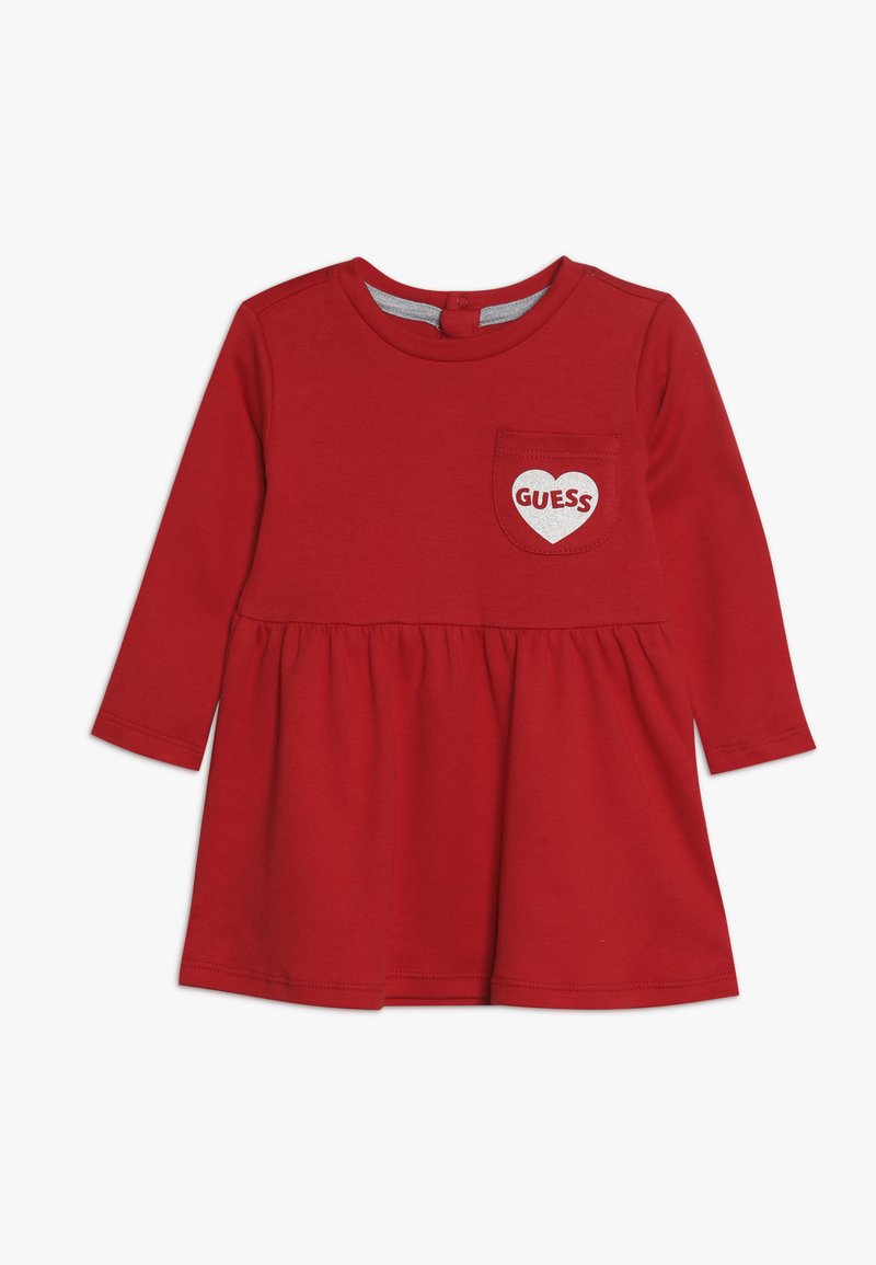 Guess - DRESS BABY - Jerseykleid - red hot