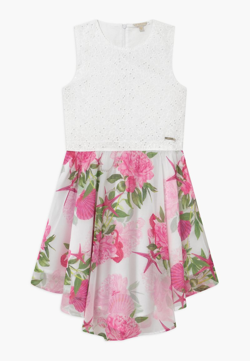 Guess - JUNIORMIXED DRESS - Koktejlové šaty / šaty na párty - seashell pink