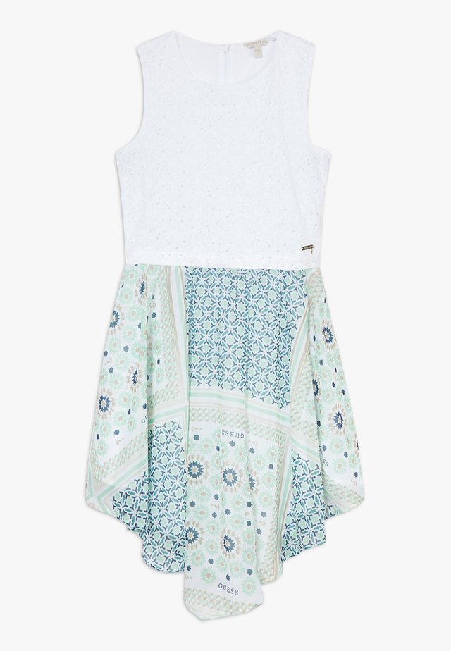 JUNIORMIXED DRESS - Cocktailjurk - bandana blue