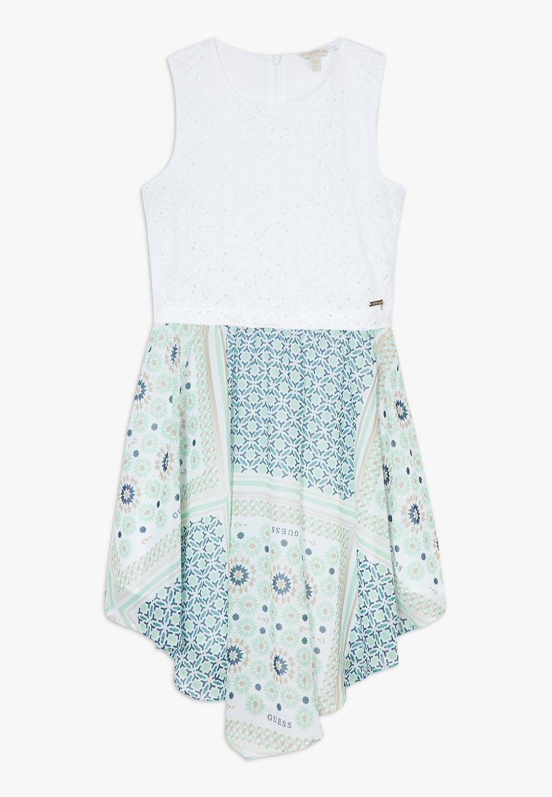 Guess - JUNIORMIXED DRESS - Vestito elegante - bandana blue