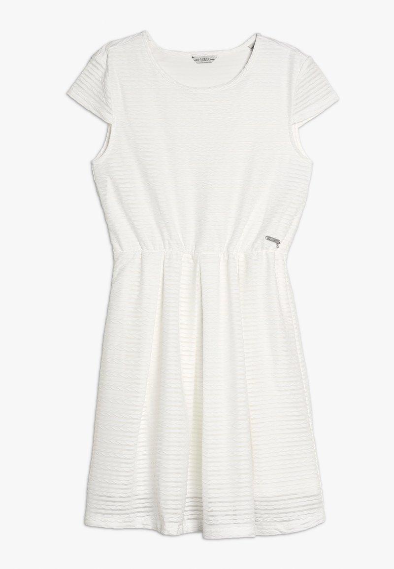 Guess - Vestido ligero - white clay