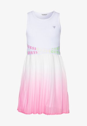 JUNIORMIXED DRESS - Vapaa-ajan mekko - blanc pur