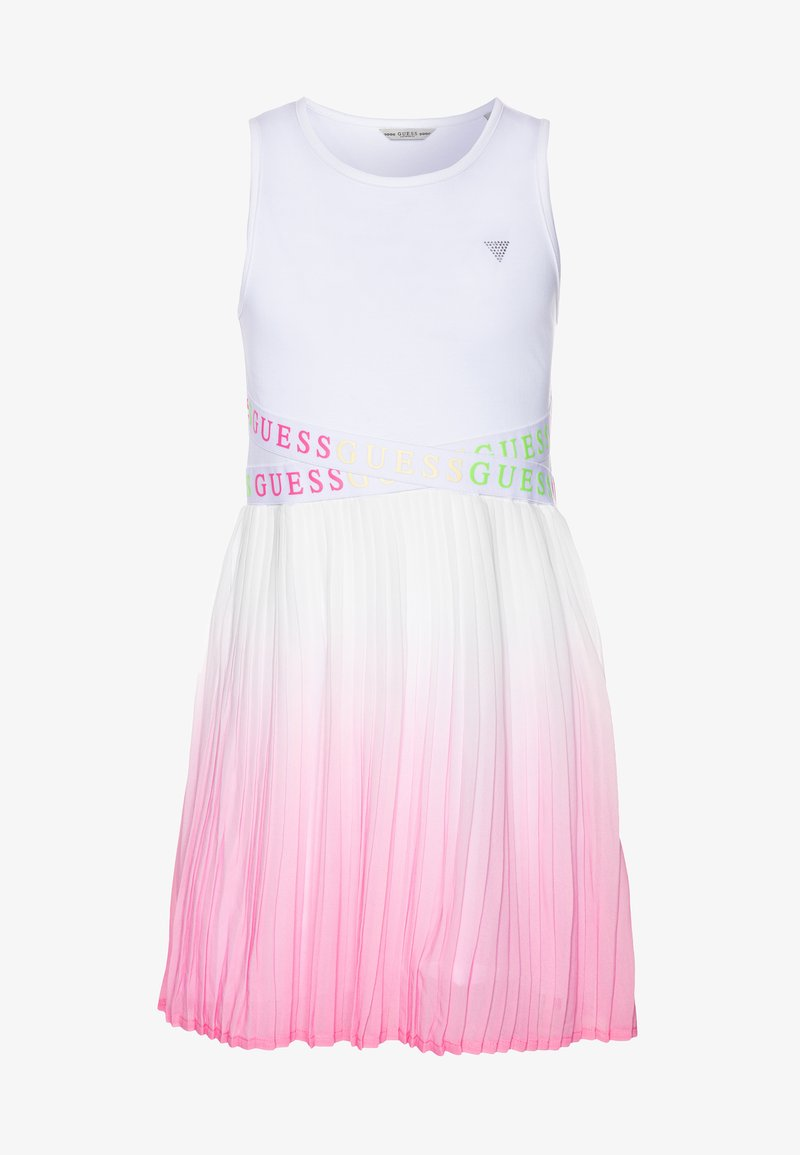 Guess - JUNIORMIXED DRESS - Vestido informal - blanc pur
