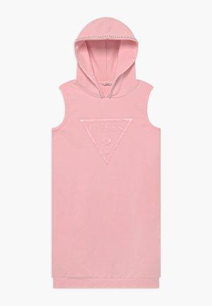 JUNIOR FRENCH HOODED - Vestido informal - alabaster pink