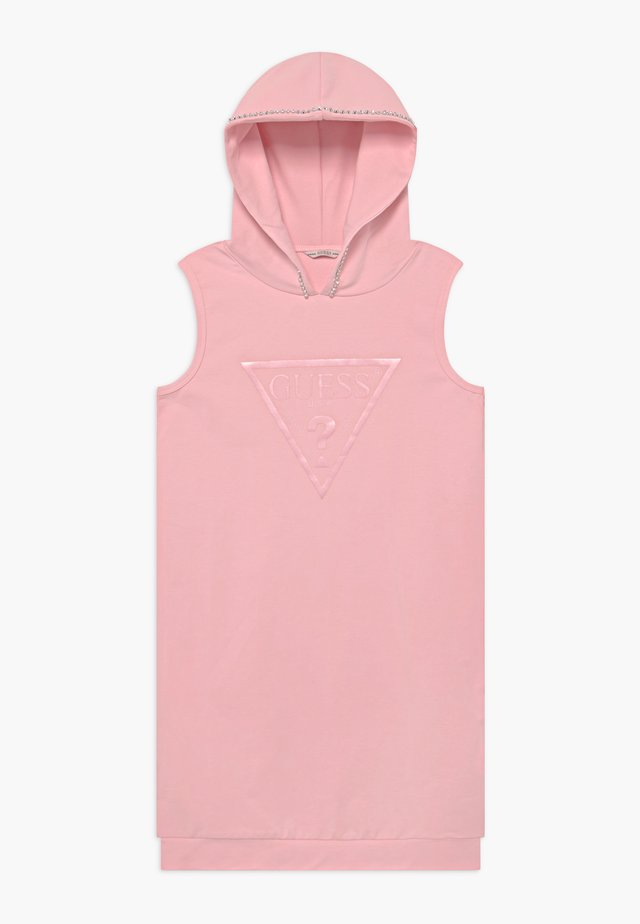 JUNIOR FRENCH HOODED - Korte jurk - alabaster pink