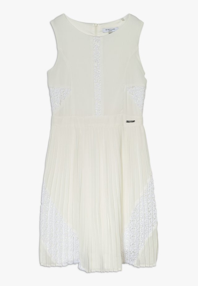DRESS MARCIANO - Cocktailjurk - blanc pur