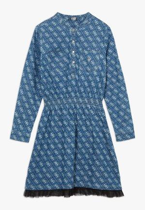 JUNIOR ADJUSTABLE DRESS - Robe chemise - indigo wash