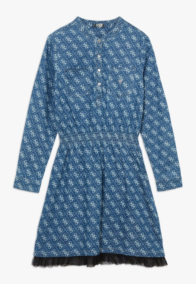 JUNIOR ADJUSTABLE DRESS - Blousejurk - indigo wash