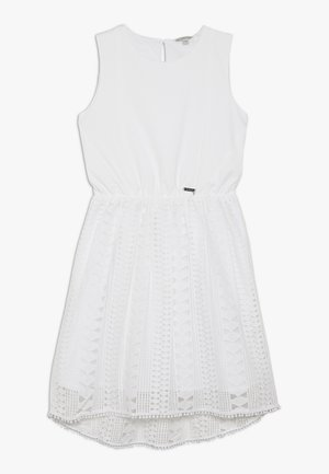 JUNIOR DRESS - Vestito di maglina - true white