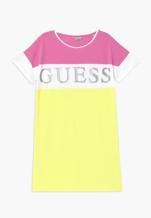 JUNIOR DRESS - Jerseykjoler - summer love pink mul