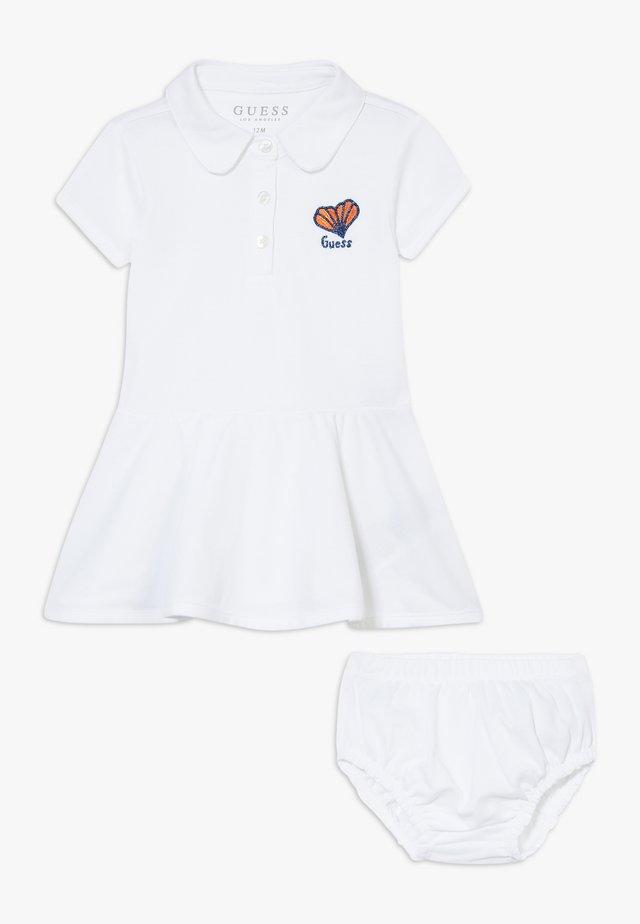 SET - Korte jurk - blanc pur