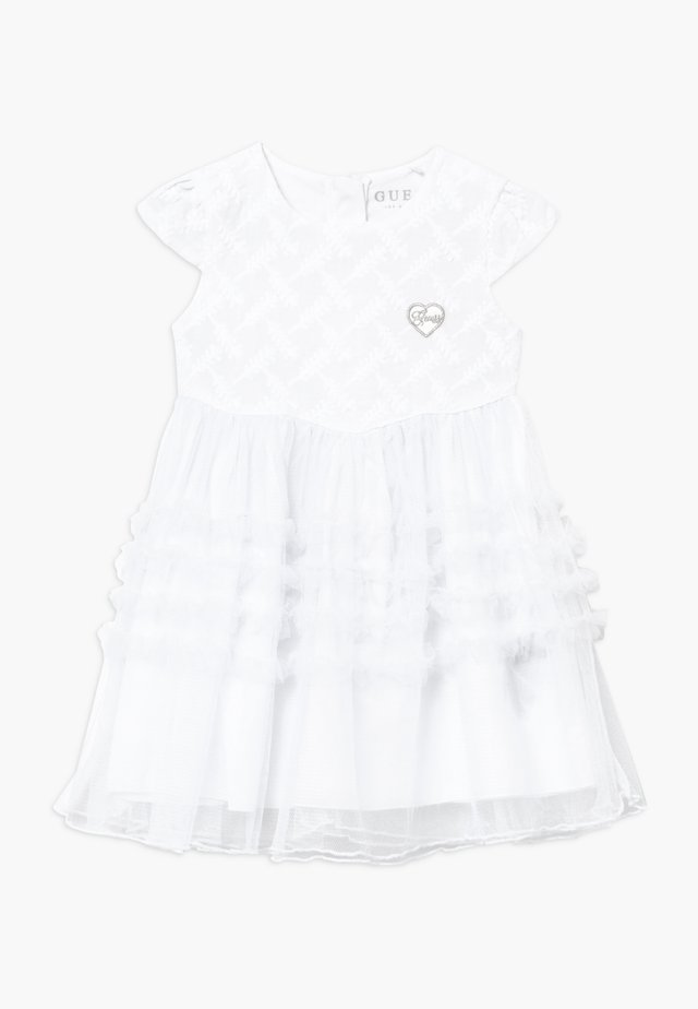 LACE DRESS BABY - Cocktailjurk - true white
