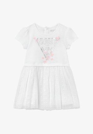 BABY - Jersey dress - true white