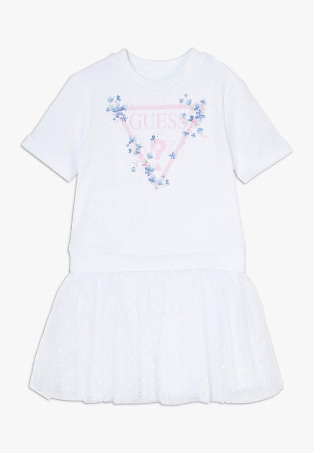 TODDLER DRESS LUMETIS - Korte jurk - true white