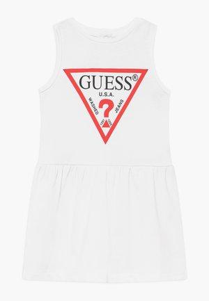 SLEVELESS DRESS PANTIE CORE - Robe en jersey - blanc pur