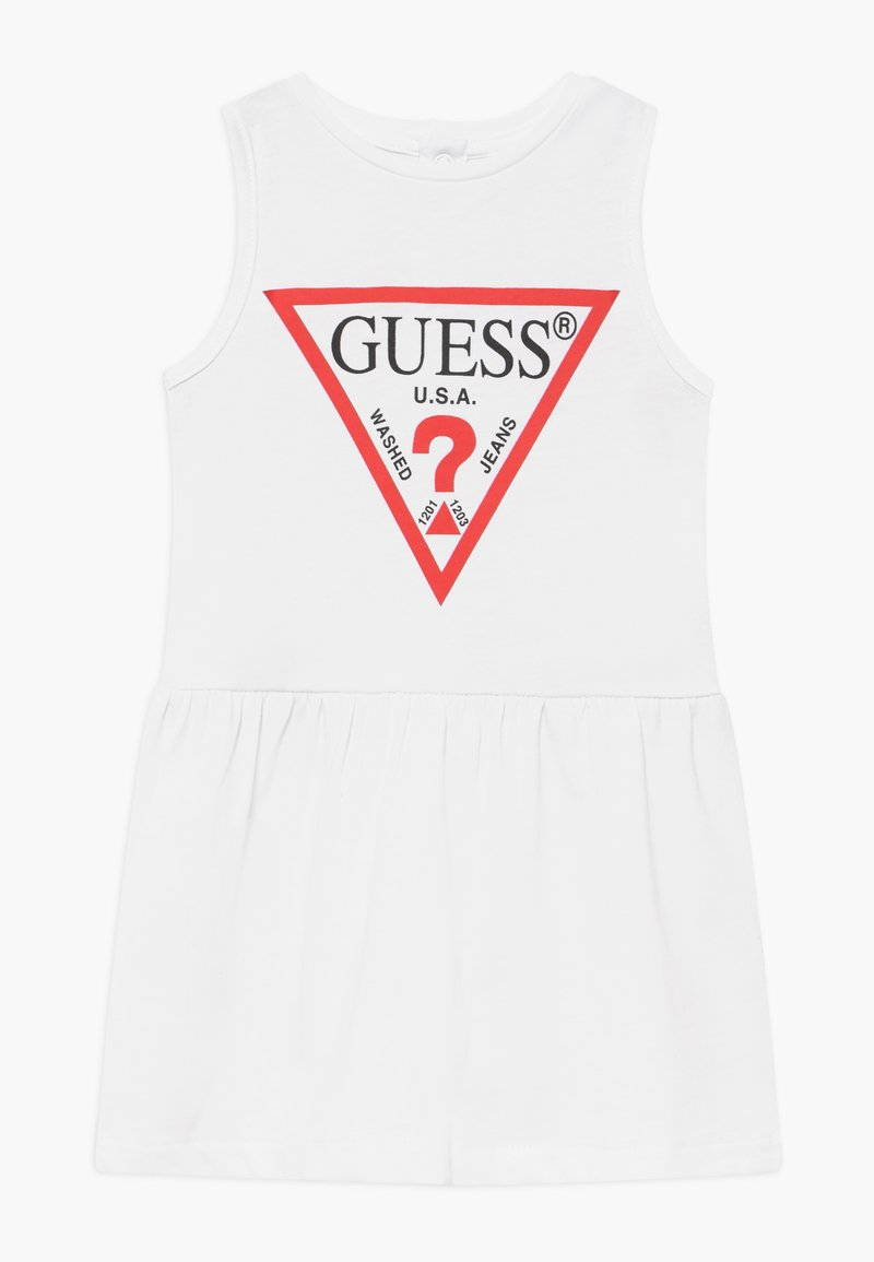 Guess - SLEVELESS DRESS PANTIE CORE - Vestido ligero - blanc pur