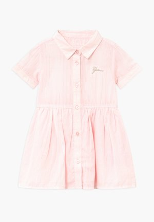 STRIPED BABY - Vestido camisero - pink/white