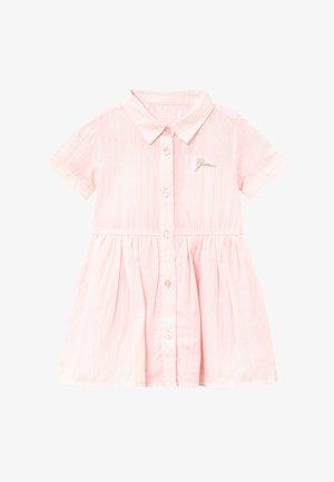 STRIPED BABY - Shirt dress - pink/white