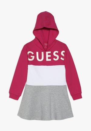 TODDLER HOODED DRESS - Sukienka letnia - shocking pink