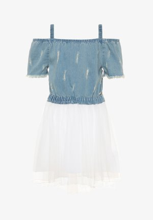 JUNIOR DRESS - Vestido vaquero - blue