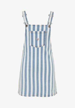 JUNIOR DRESS - Vestido vaquero - white/blue