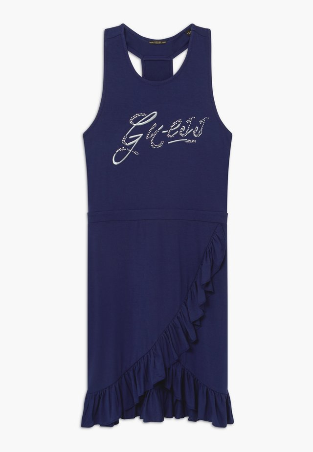 JUNIOR DRESS - Trikoomekko - deck blue