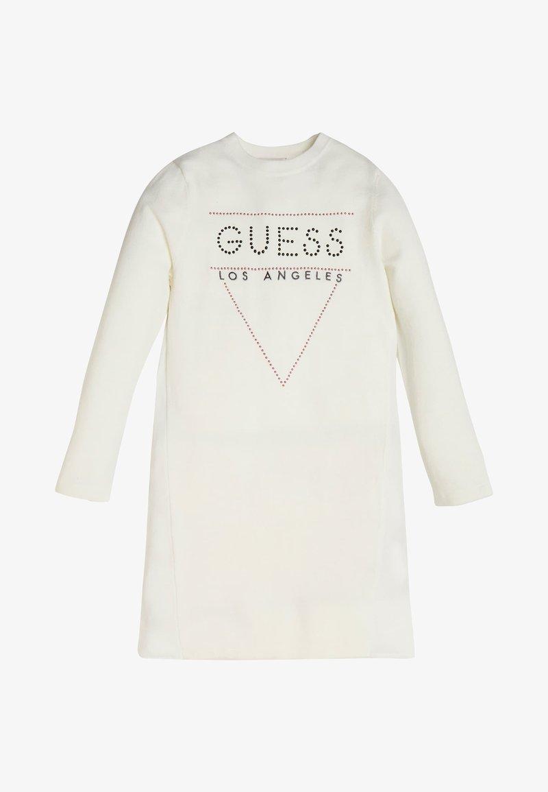 Guess - KLEID LOGO NIETEN - Sukienka letnia - white