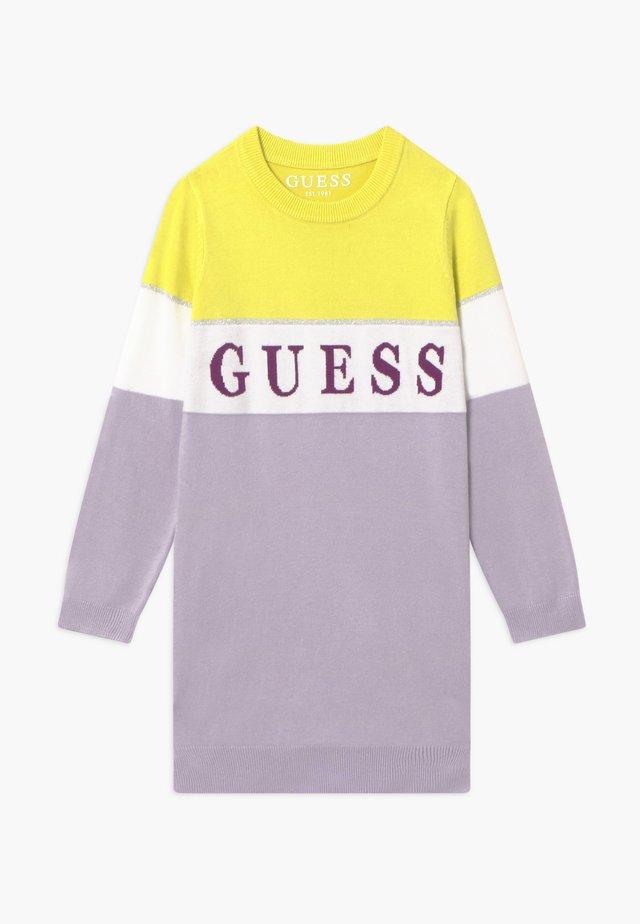 TODDLER - Gebreide jurk - lilac