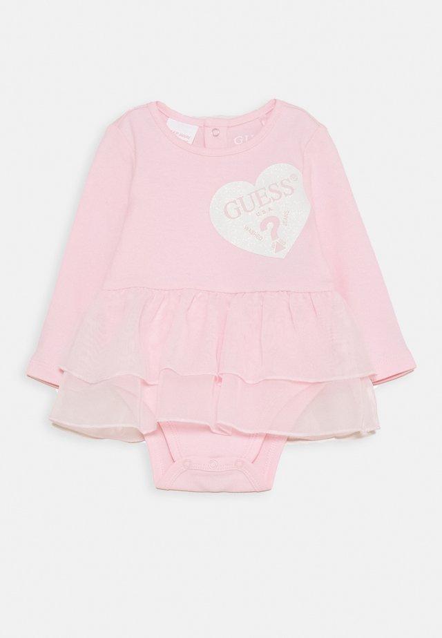 DRESS BODYSUIT BABY - Jerseyklänning - ballerina