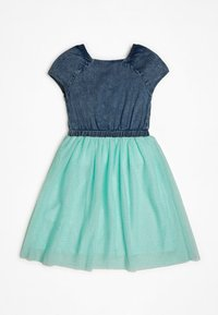 Guess - GUESS KLEID GLITTER - Day dress - blau - 1